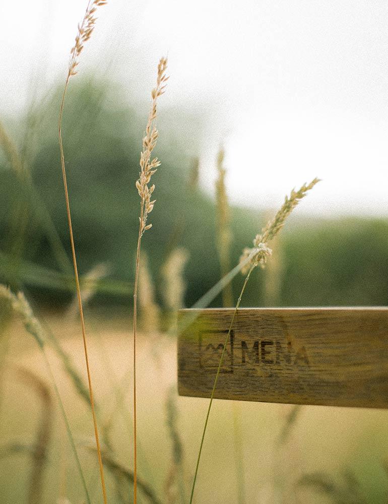 Mena Woodwork Logo Design