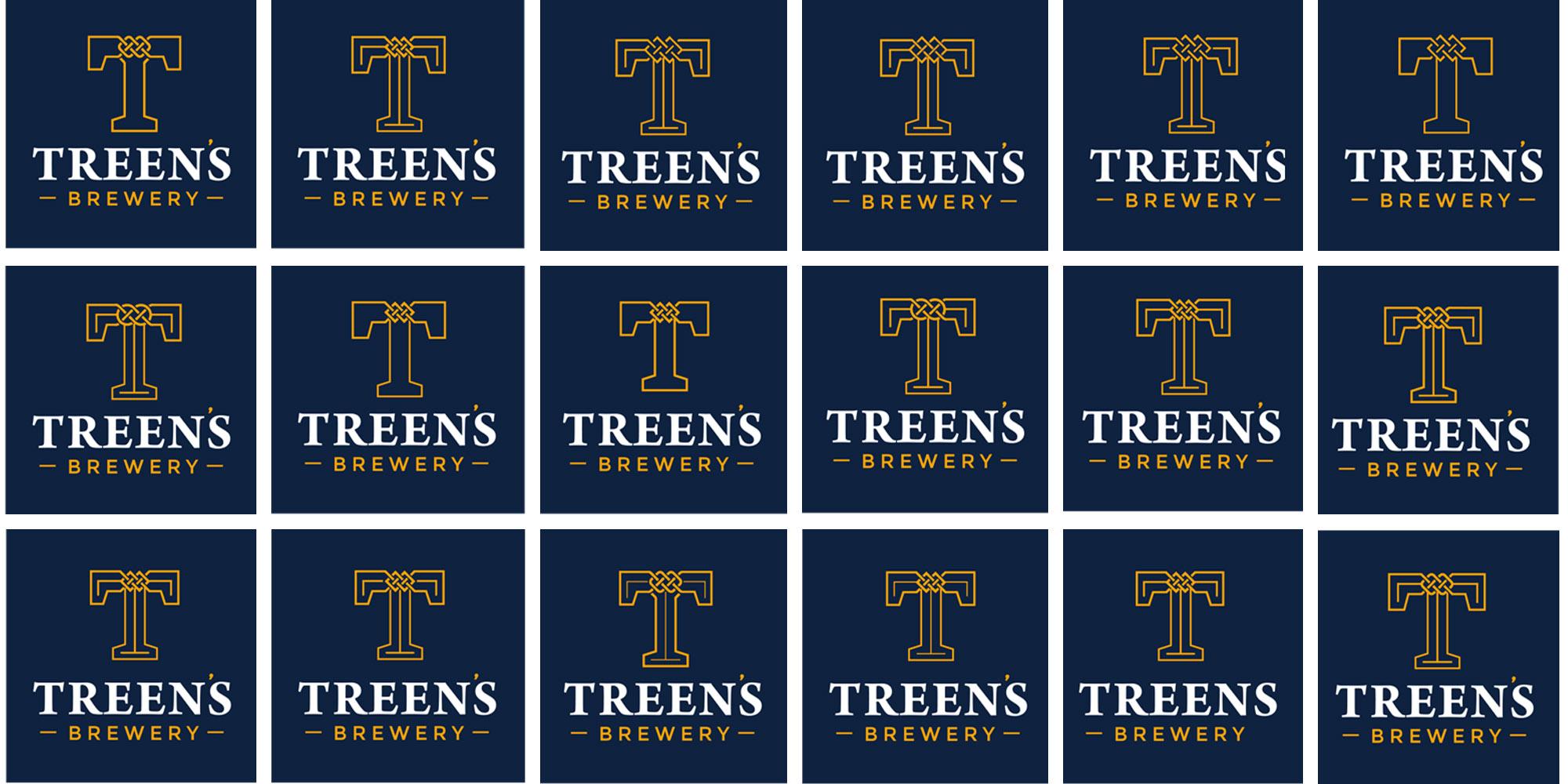 Treen's Brewery Logo Design Amends
