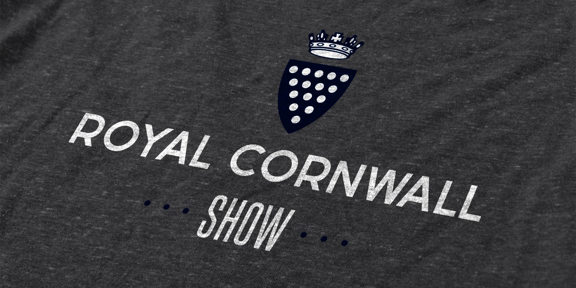 Royal Cornwall Show Print Design