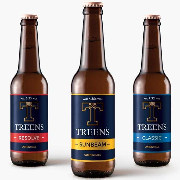 Treen's Brewery Print Design Featured Image