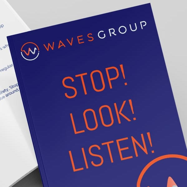 Waves Group Print Design Featured Image