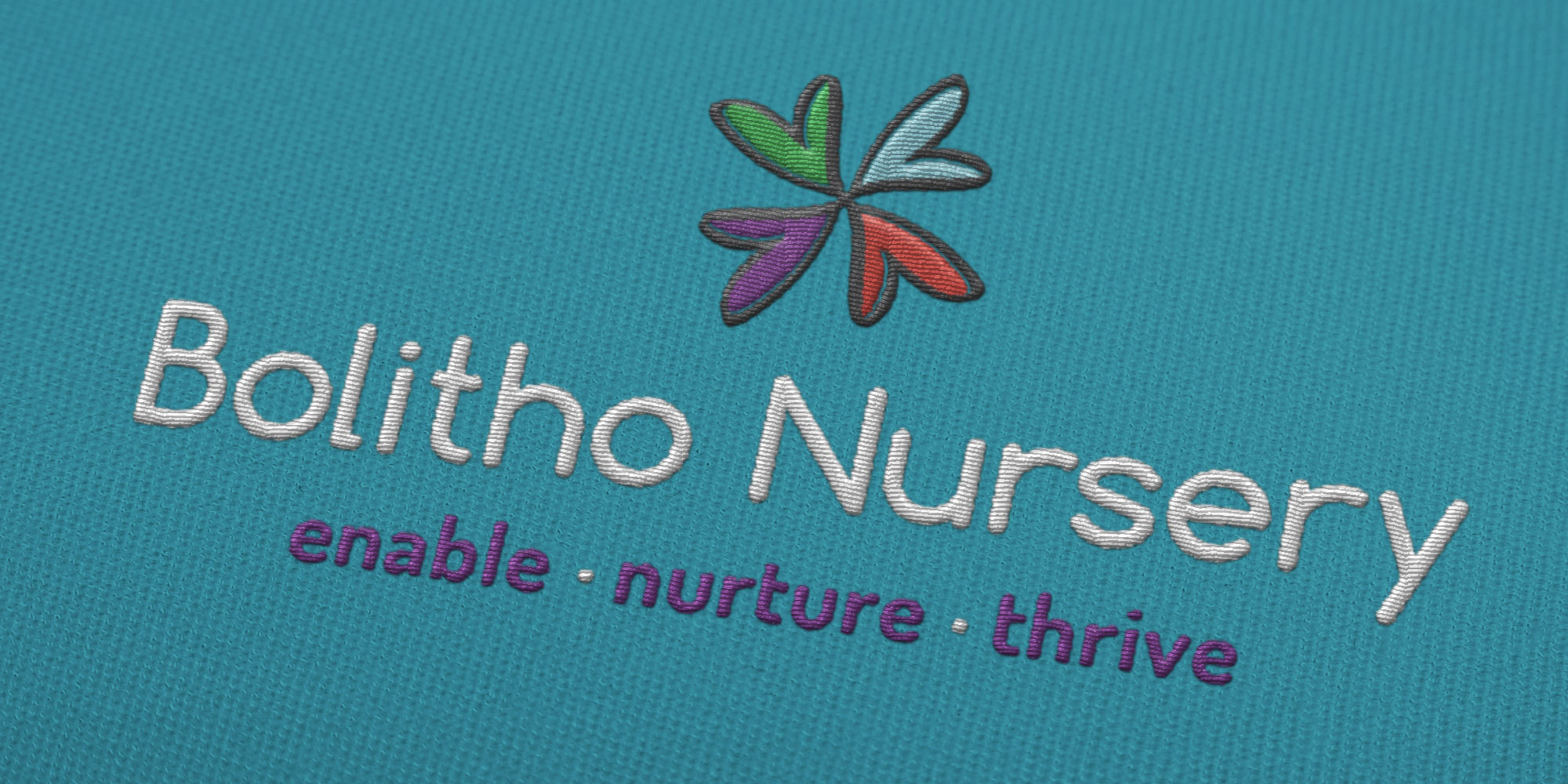 Bolitho Nursery Logo Design on Uniform