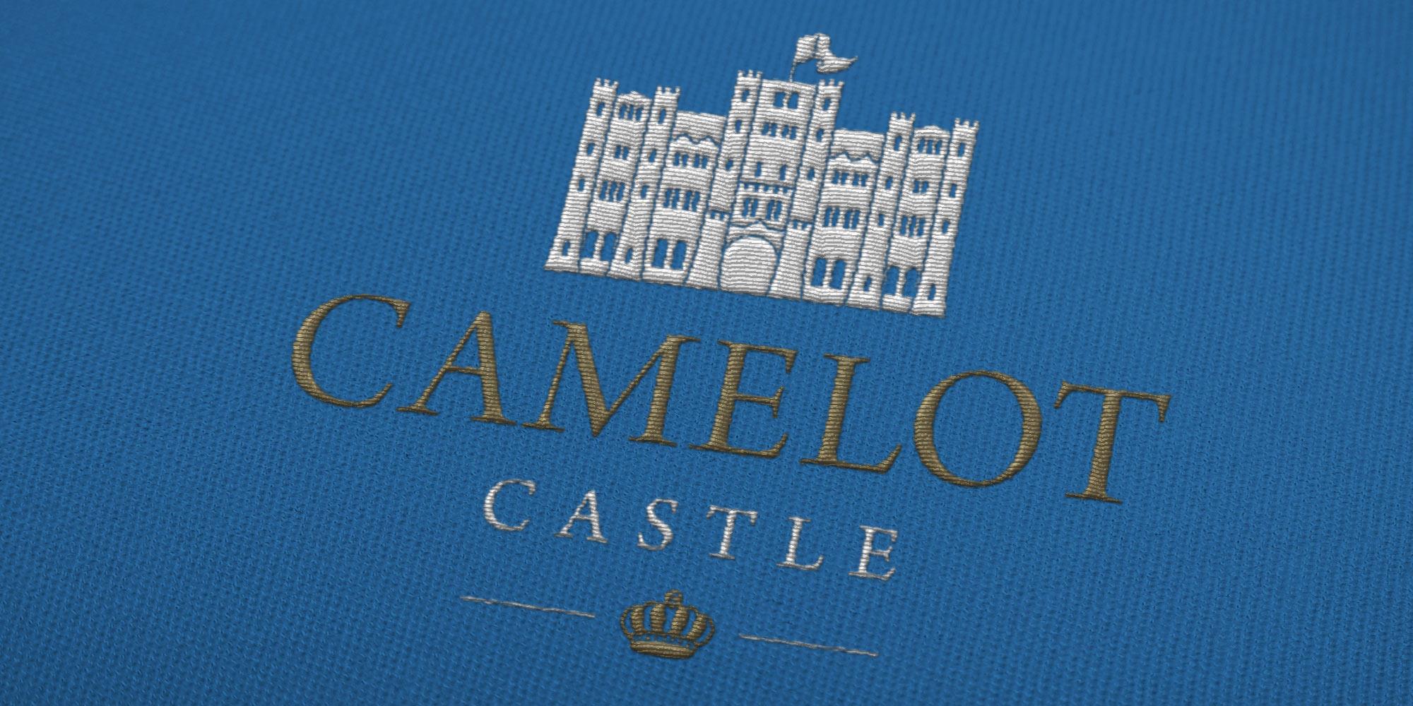 Camelot Castle Logo Design on Uniform