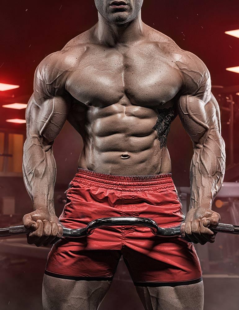 Muscle Rage Website Design Filler Image