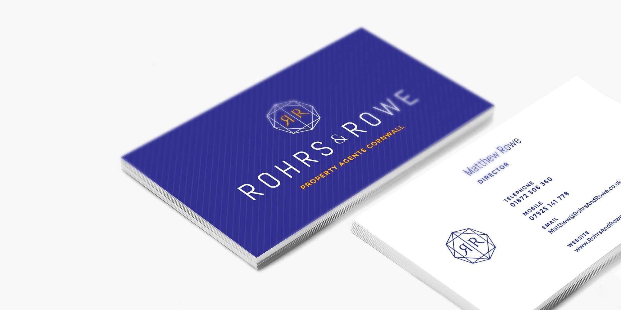 Rohrs & Rowe Business Card Design
