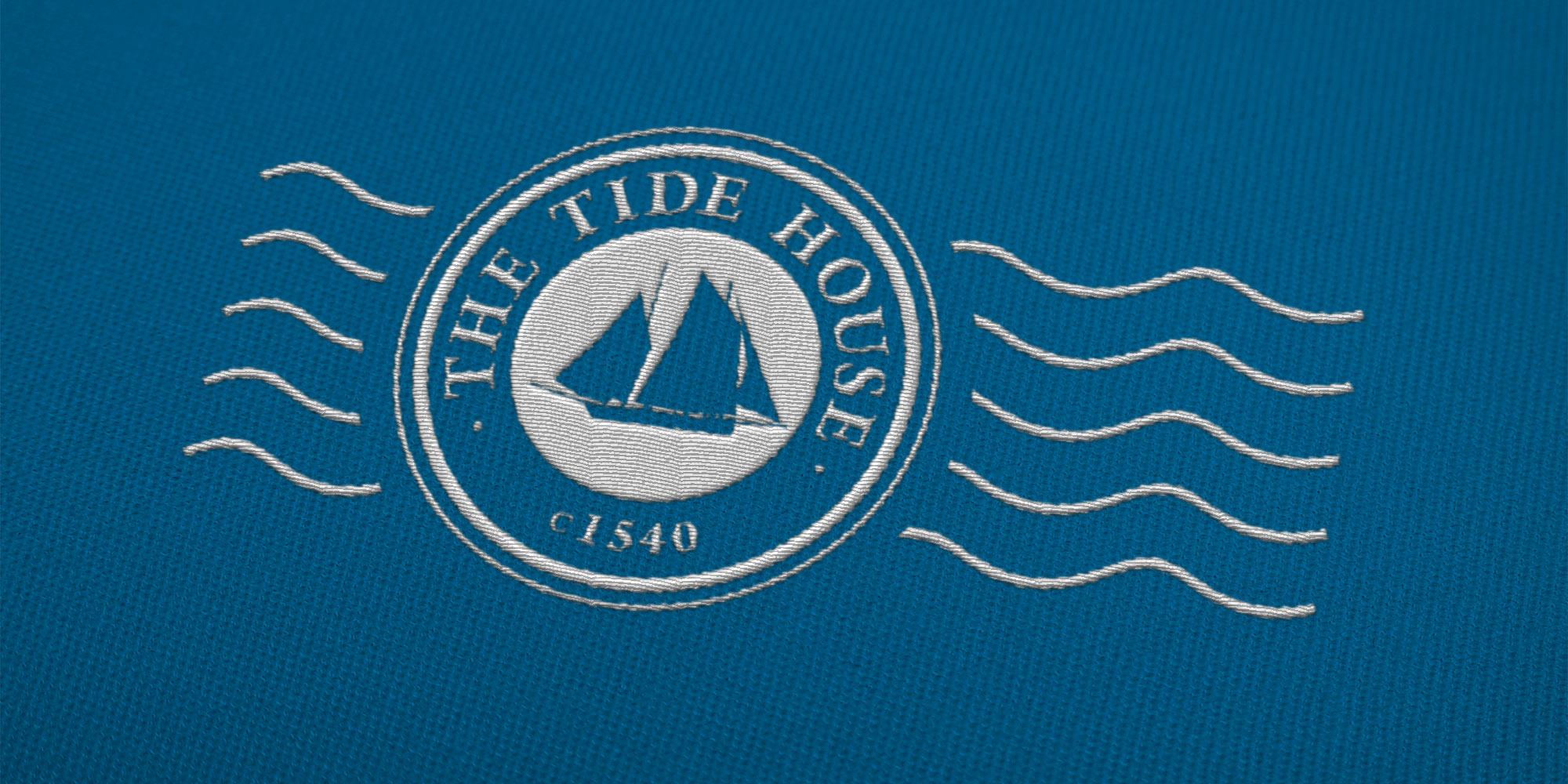 The Tide House Logo Design on Uniform