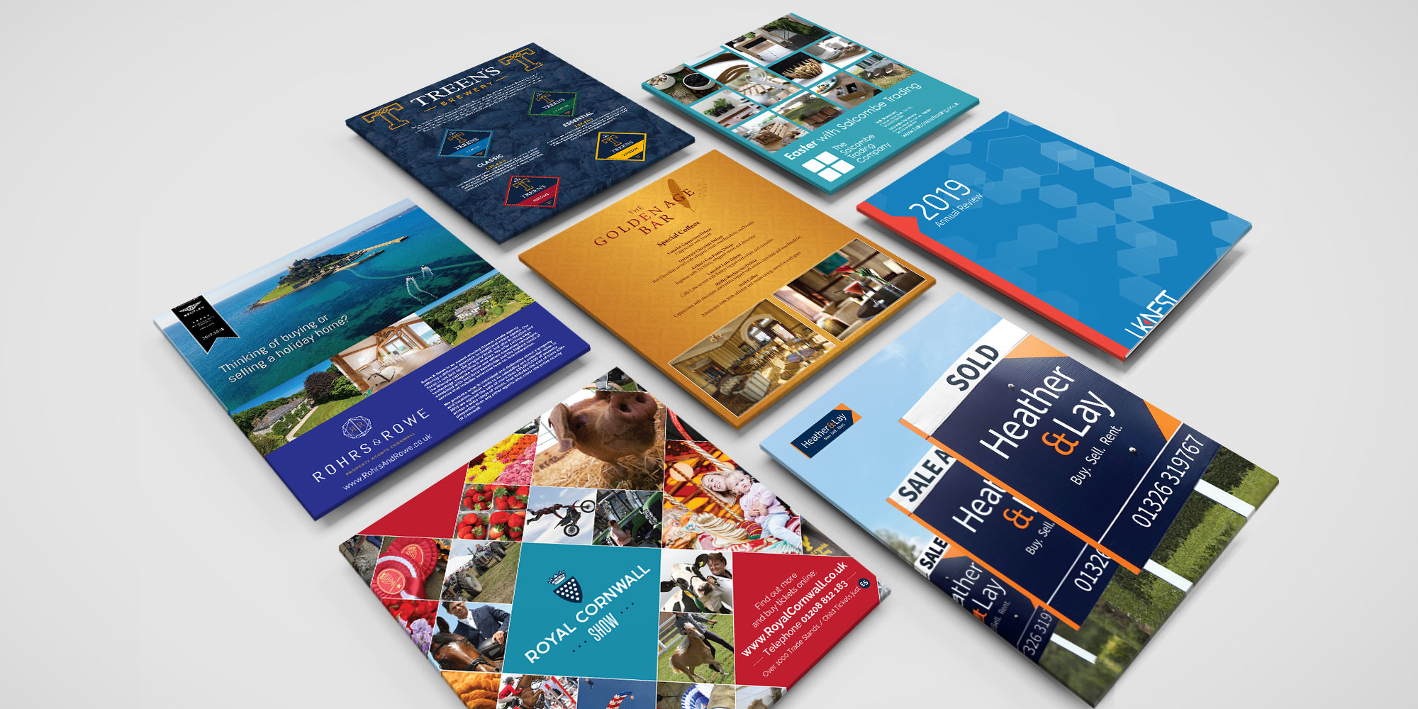 Print Design in Cornwall with Cape Creative