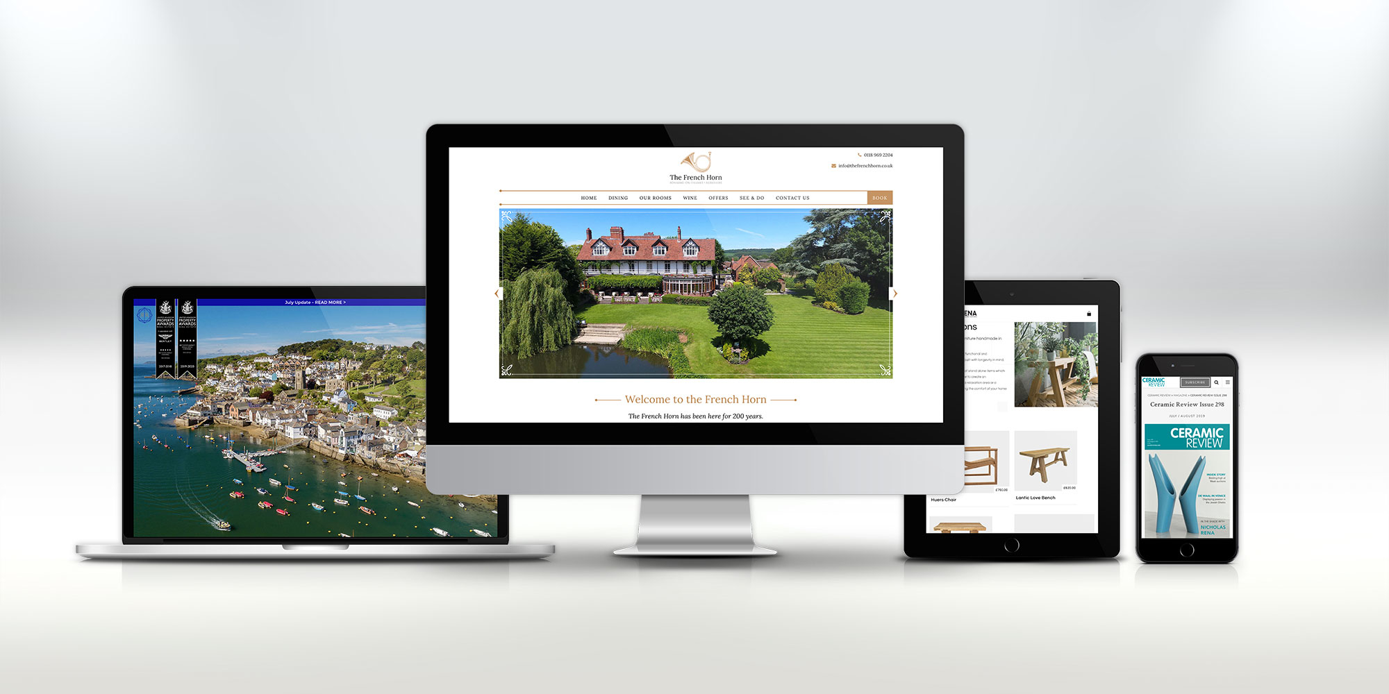 Cornwall Website Design with Cape Creative