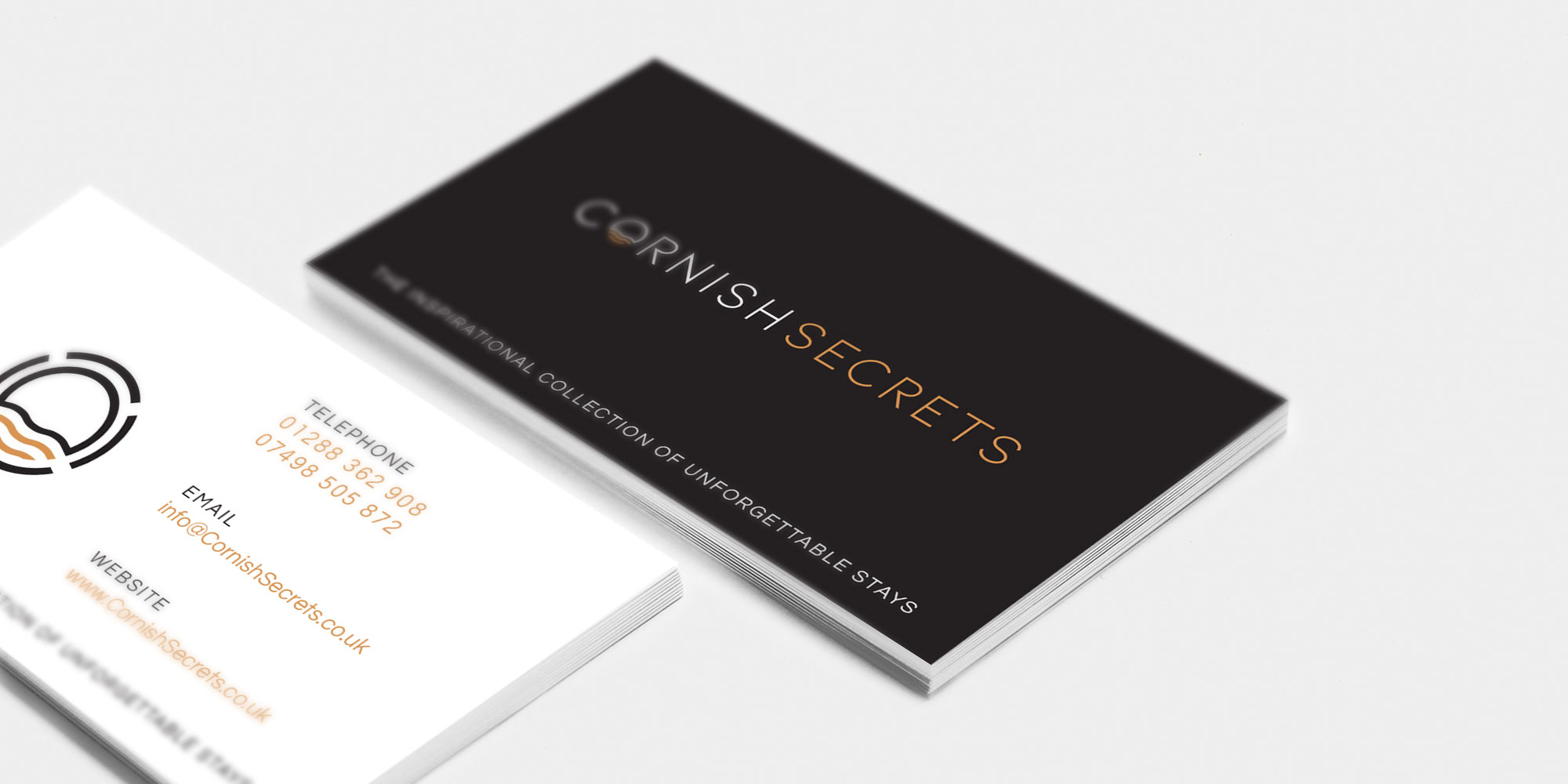 Cornish Secrets Business Card Design