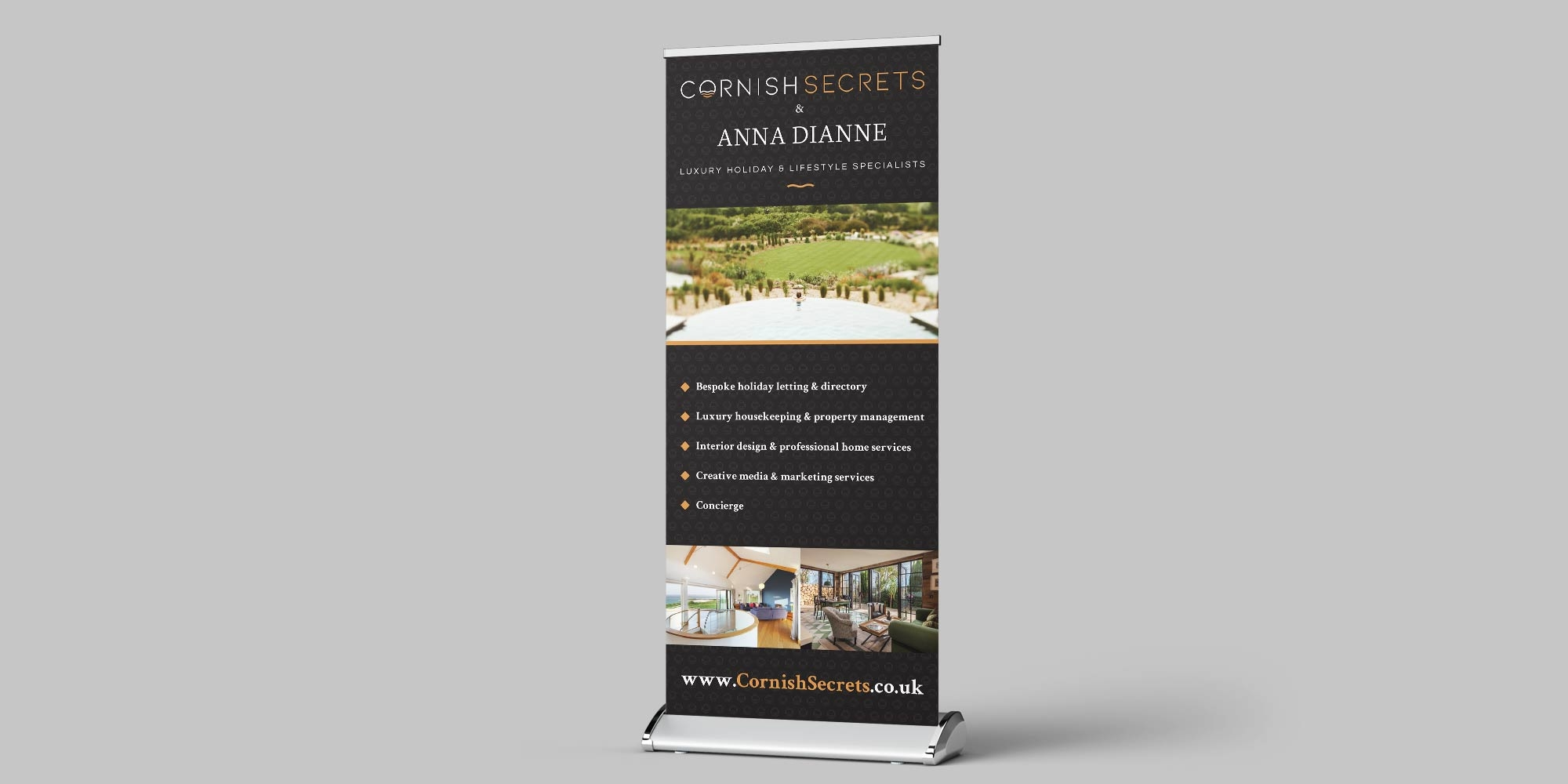 Cornish Secrets Pop Up Design