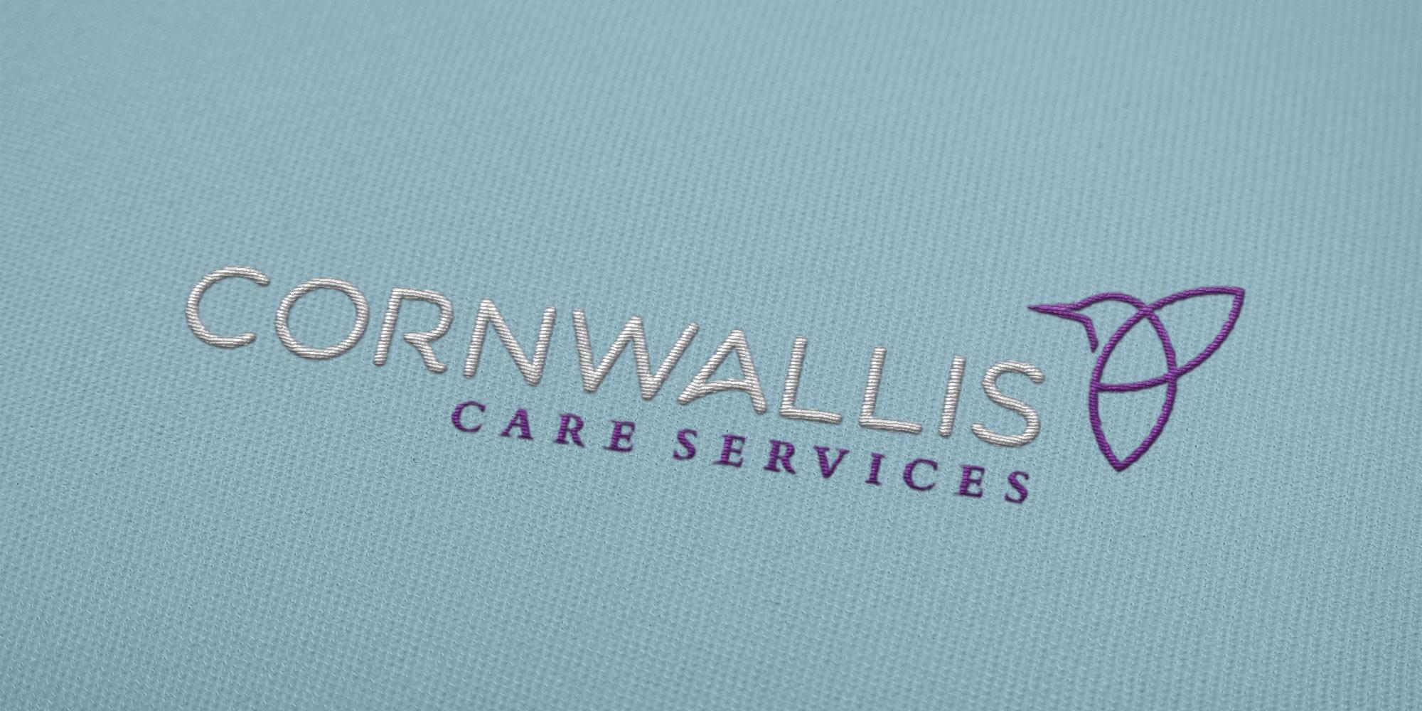 Cornwallis Care Logo Design on Uniform
