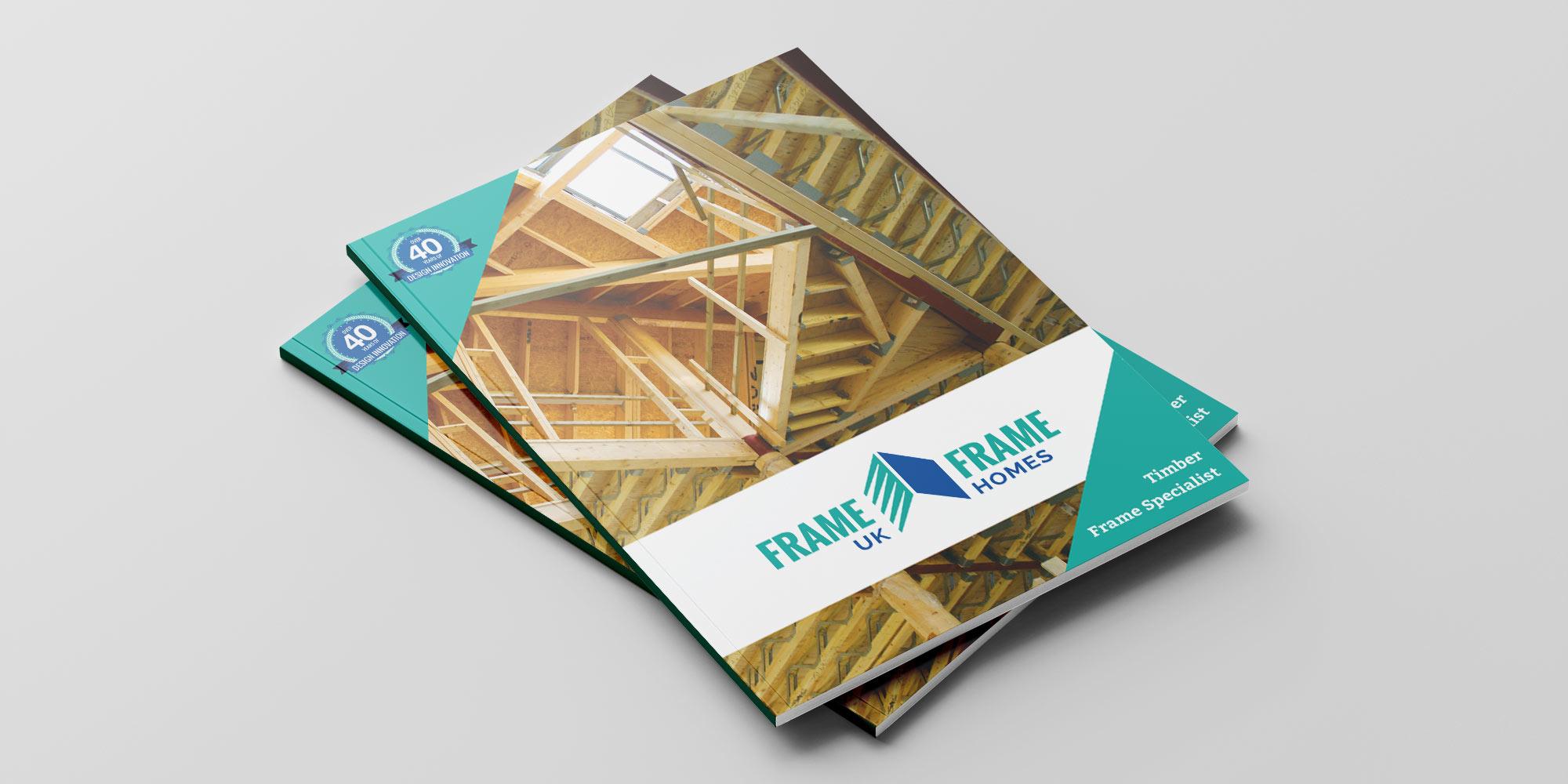 Frame UK Brochure Design