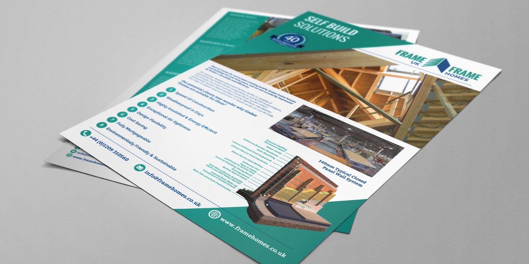 Frame UK Flyer Design