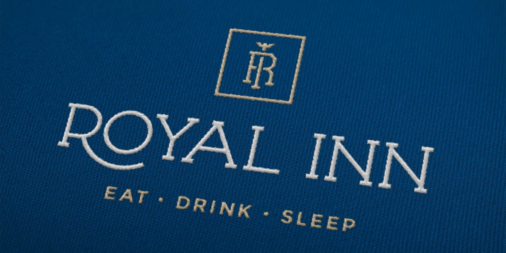 Royal Inn Logo Design on Staff Uniform