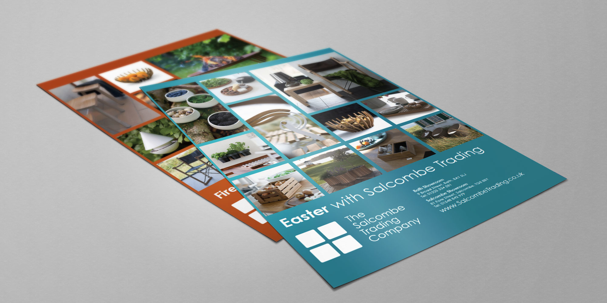 Salcombe Trading Print Design Flyers