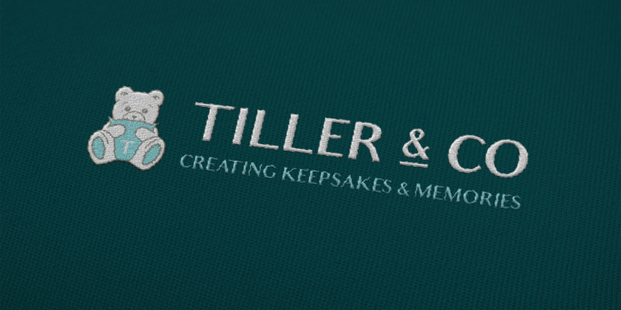 Tiller & Co Stitched Logo Design