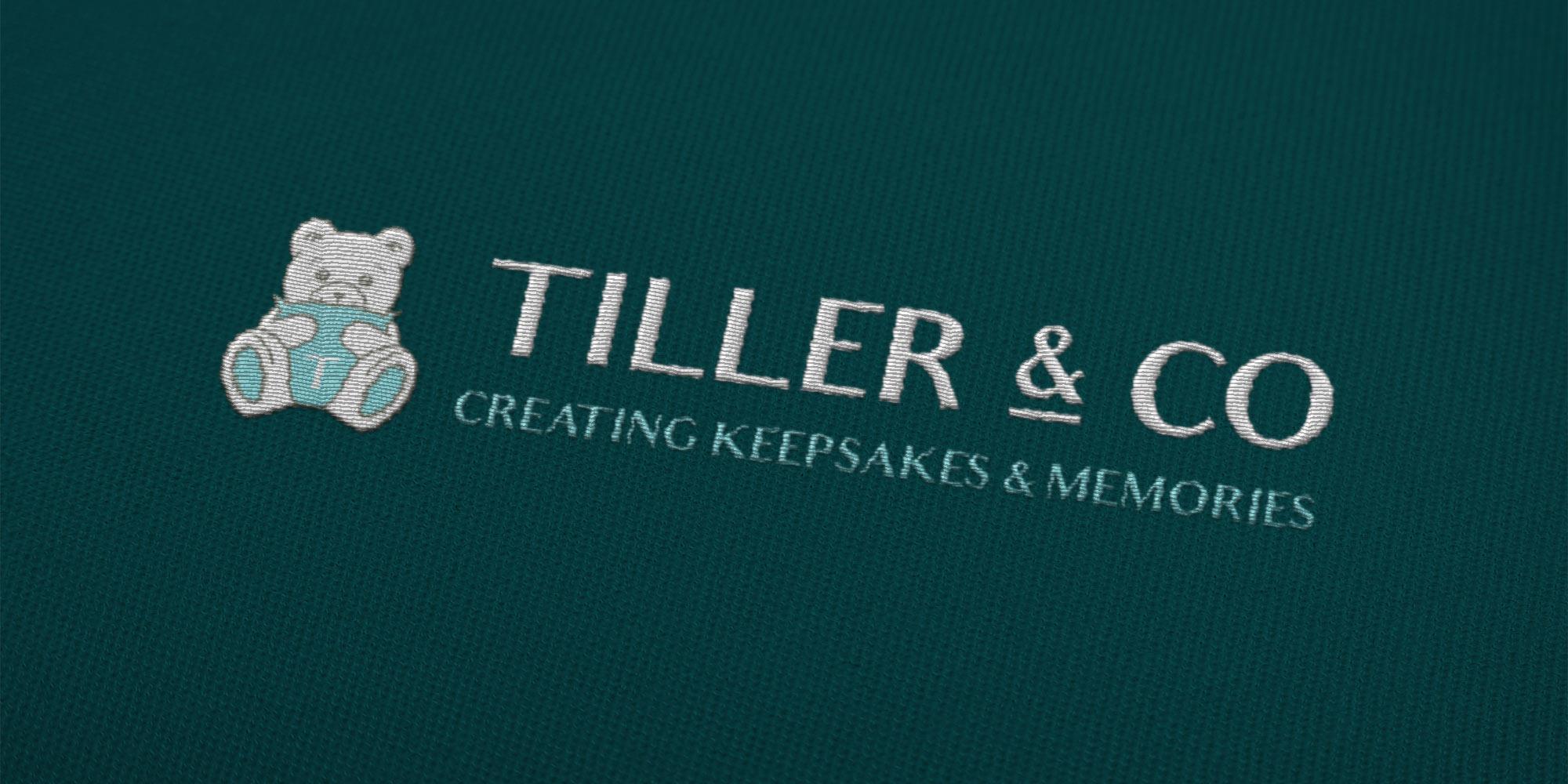 Tiller & Co Stitched Logo Design