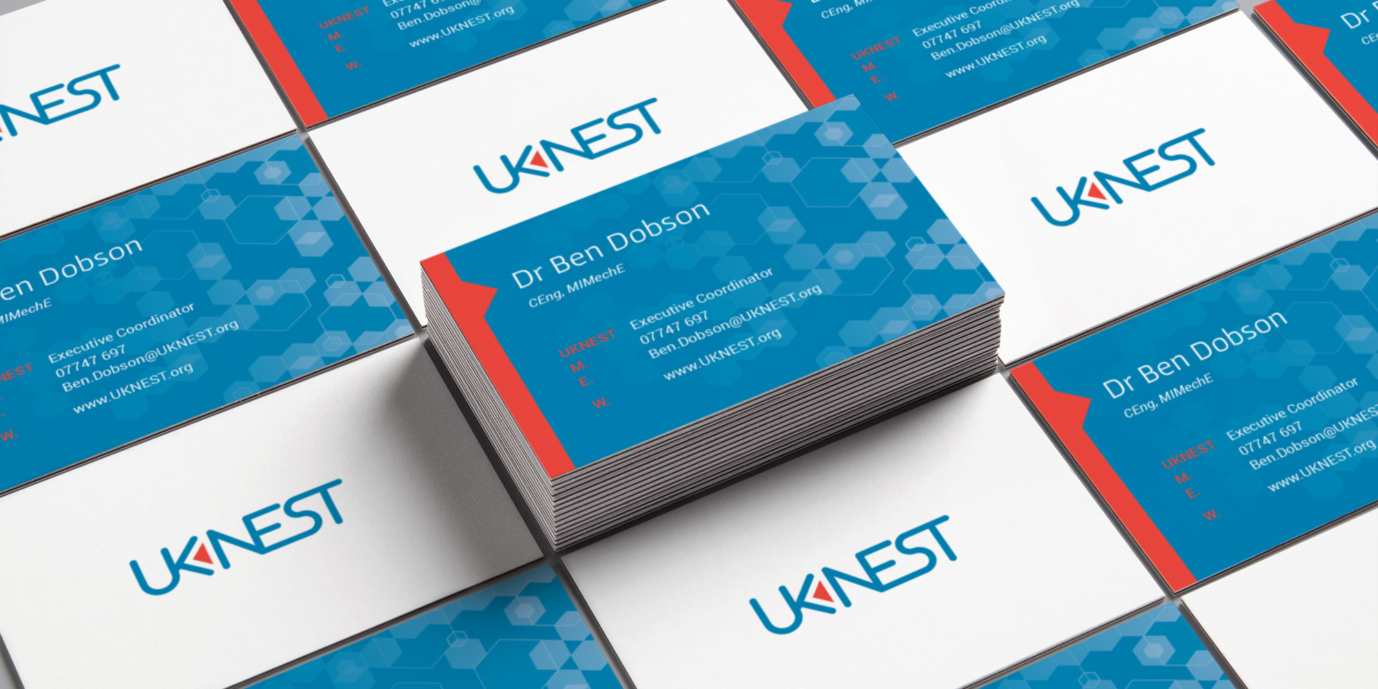 UK Nest Business Card Design