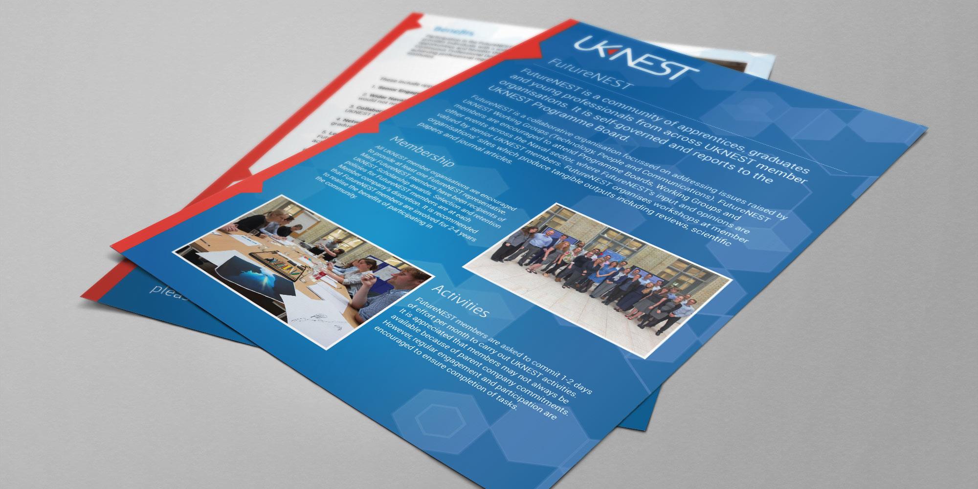 UK Nest Flyer Print Design