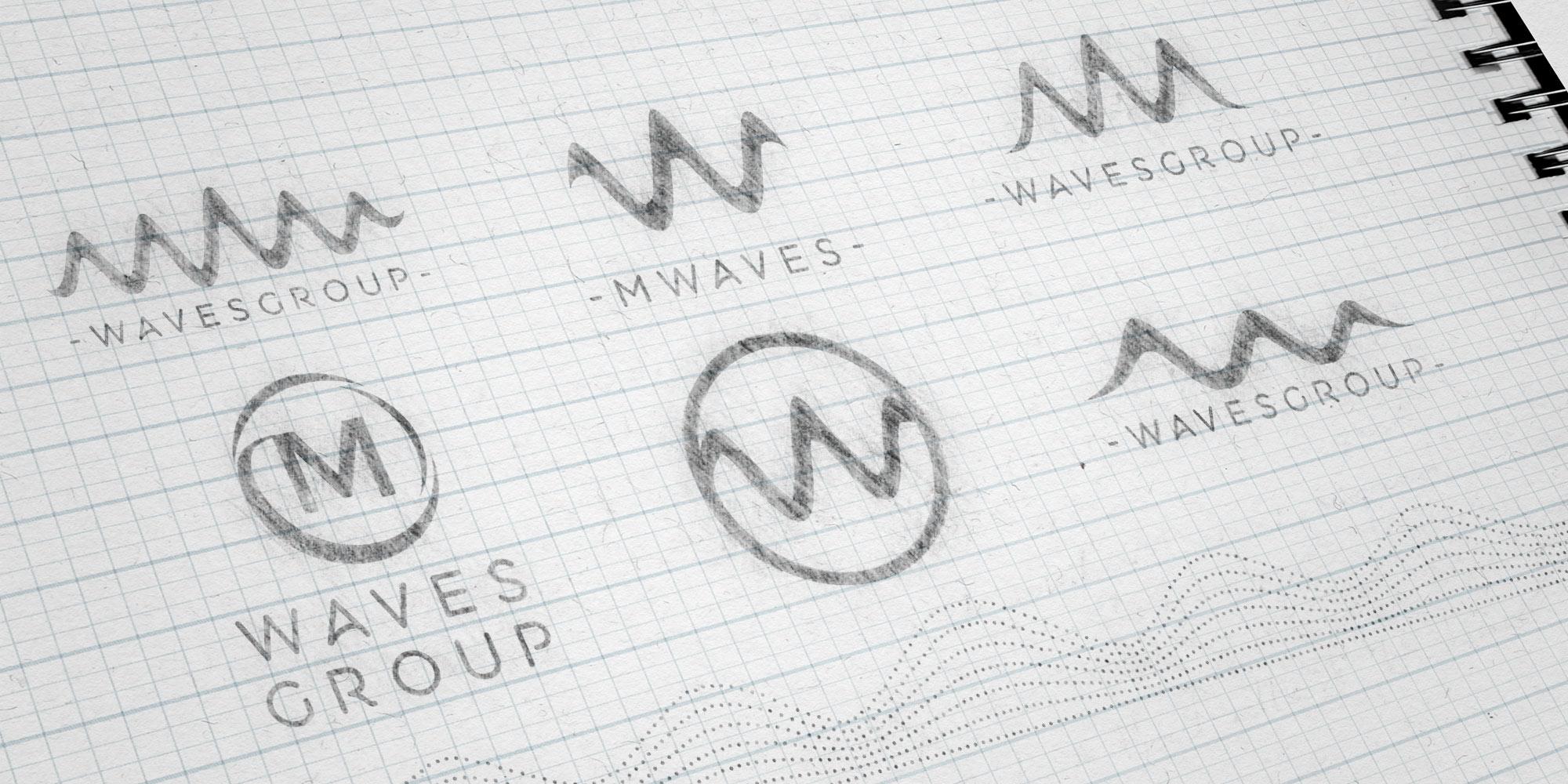 Waves Group Logo Ideas